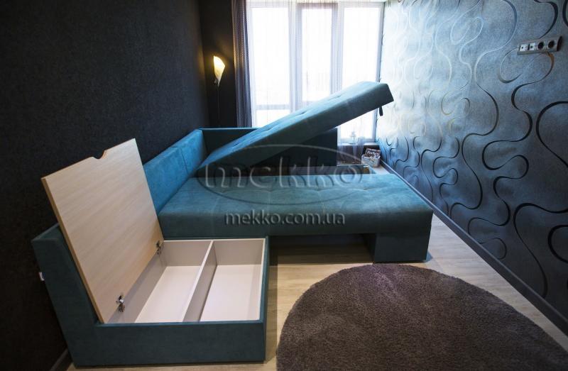 Кутовий диван з поворотним механізмом (Mercury) Меркурій ф-ка Мекко (Ортопедичний) - 3000*2150мм  Дунаївці-7