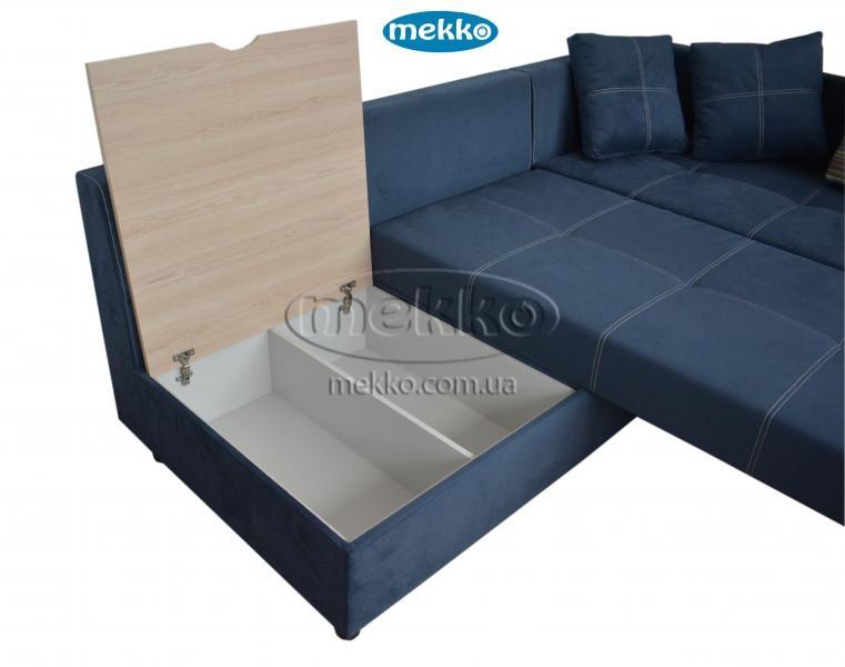 Кутовий диван з поворотним механізмом (Mercury) Меркурій ф-ка Мекко (Ортопедичний) - 3000*2150мм  Дунаївці-18