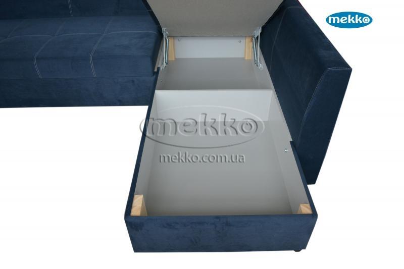 Кутовий диван з поворотним механізмом (Mercury) Меркурій ф-ка Мекко (Ортопедичний) - 3000*2150мм  Дунаївці-20