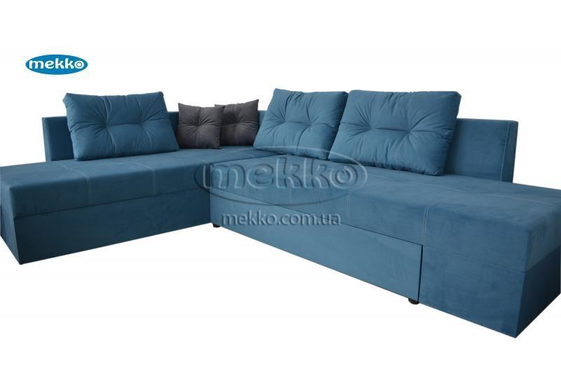 Кутовий диван з поворотним механізмом (Mercury) Меркурій ф-ка Мекко (Ортопедичний) - 3000*2150мм  Дунаївці-11